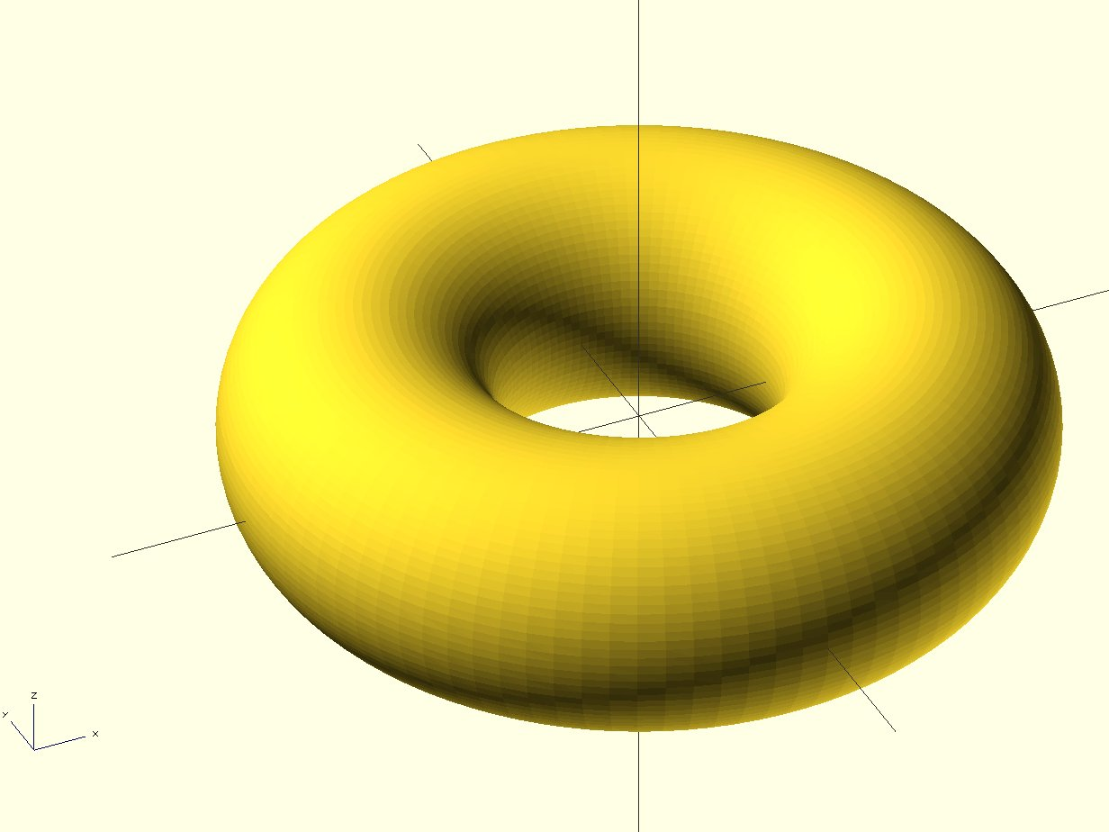 OpenSCAD Tip: Linear and Rotational Extrusions | ihrchive